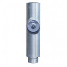 Loromeij-Goor BV - DUBBELW.PIJP MET ONTST.DEKSEL - 500 mm - dn 70 - 58054X - 3020222